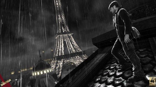 Die Straßen von Paris sind fast alle frei zugänglich.