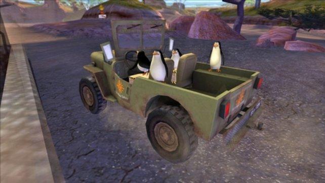 Auch die Pinguine übernehmen wichtige Aufgaben in den Minigames.