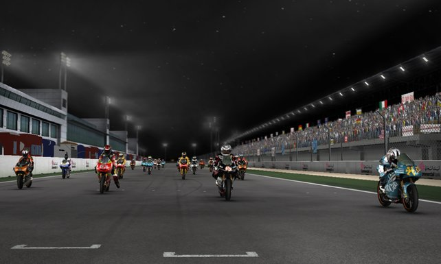 """Neu sind auch die Nachtrennen von """"Qatar""""."""