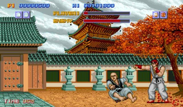 Das erste Street Fighter erschien 1987 für Spielautomaten.
