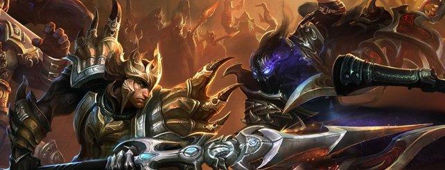 In MOBAs bekämpfen sich zwei Heldengruppen in einer Areana.