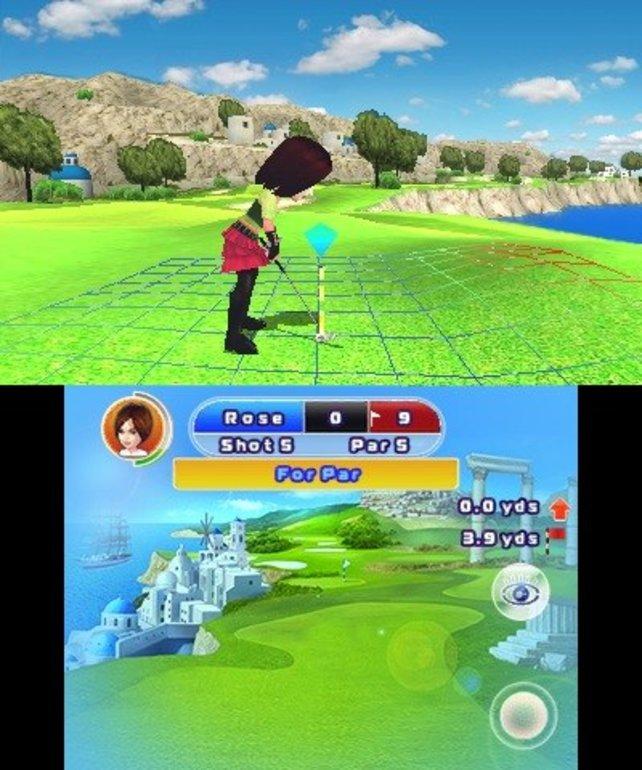 Grafisch und spielerisch bietet Sonys Everybody's Golf-Reihe mehr.