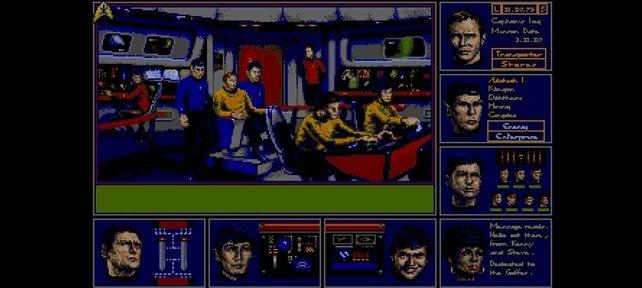 Ein Blick auf die Brücke der Enterprise (Star Trek: The Rebel Universe)
