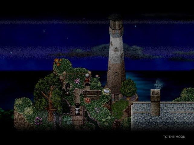 Dem Spiel wohnt eine ruhige, melancholische Atmosphäre inne.