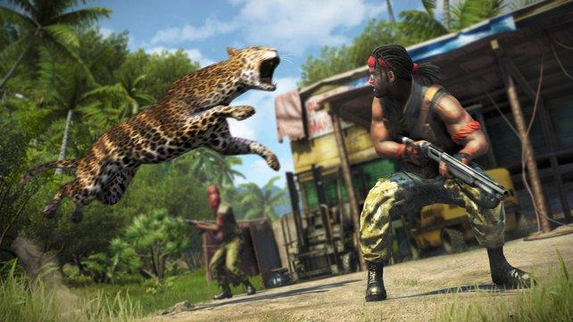 Südsee, Wildtiere, tolles Spielgefühl, tolle Geschichte ... Far Cry 3 ist klasse!