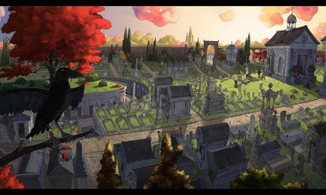 Der Friedhof ist Schauplatz im ersten Kapitel.