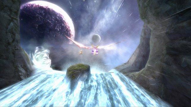Spyro genießt die absolute Lufthoheit.