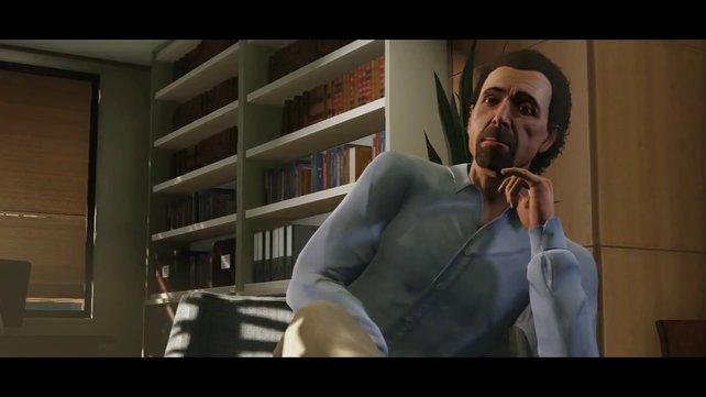 Michael steckt offenbar in einer Midlife-Crisis und besucht einen Psychiater.