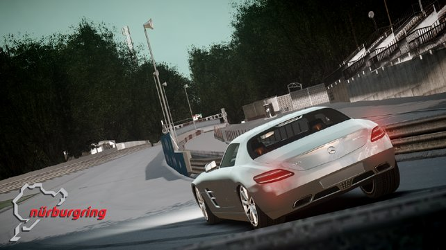 Für jeden Freund des Motorsports ein Muss: Nürburgring als Rennstrecke in GTA 4.