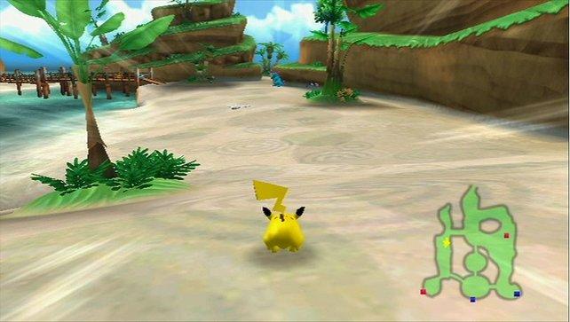 In der Rolle von Pikachu bewahrt ihr den PokéPark vor einer Katastrophe.