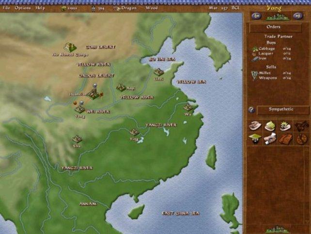 Die Weltkarte