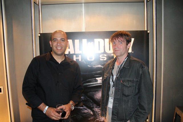 Bei Activision verantwortlich für die Call-of-Duty-Reihe: Daniel Suarez im Gespräch mit spieletipps Redakteur Ulrich.