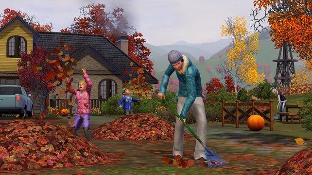 Jahreszeiten, Haustiere und wilde Feste ... in Sims 3 ist alles möglich.
