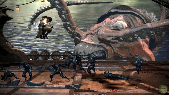 """Ein wenig glanzlos kommt """"Conan"""" bei seinem PS3 Debüt daher."""