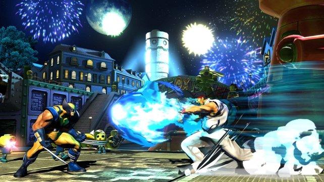 """Ob der """"Hadouken""""-Feuerball auch gegen Wolverine hilft?"""
