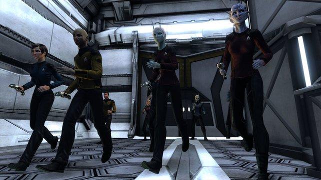 In Star Trek Online begegnet ihr altbekannten, wie auch neuen Spezies.