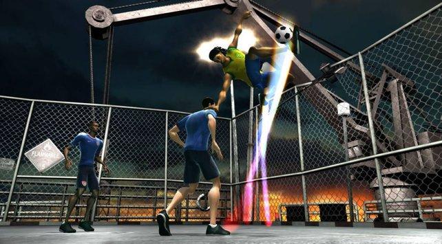 Ein aktiver Gamebreaker macht sich auch optisch bemerkbar.