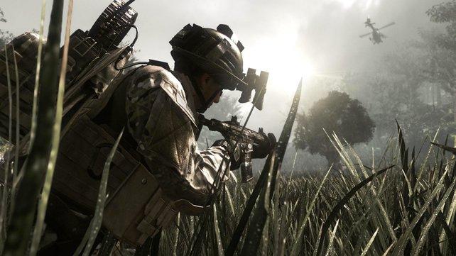 Call of Duty oder Battlefield? Ein Streitthema. Genau wie Krieg an sich. Passt ja (Bild: CoD - Ghosts).