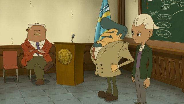 Der pflichtbewusste Inspektor Grosky ist auch wieder dabei.
