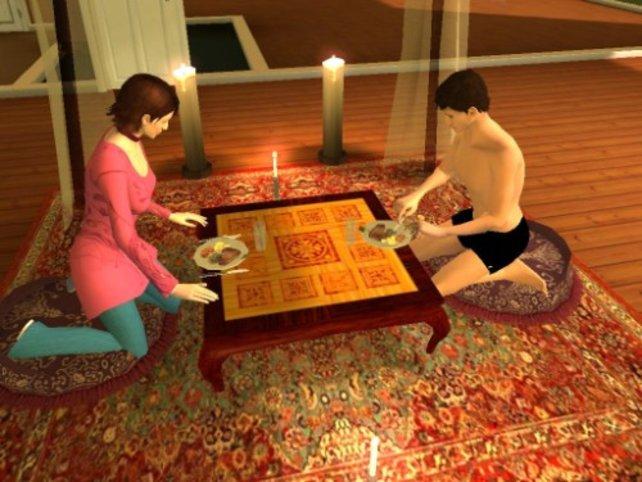 Mit einem Candellight Dinner wollen wir unsere Herzensdame zurück erobern