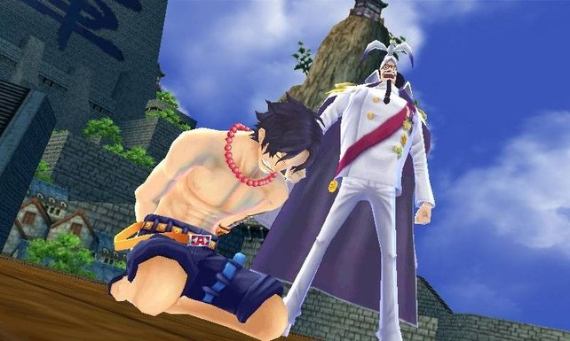 Ace steht kurz vor seiner Hinrichtung.
