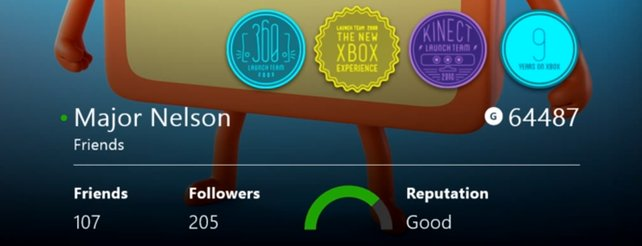Xbox One: Neuerungen der Freundesliste und des Spielerprofils (Video)