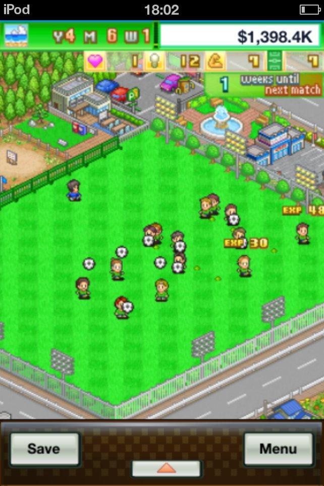 Eine Runde kicken auf dem heimischen Grün bringt Erfahrungspunkte für eure Spieler.