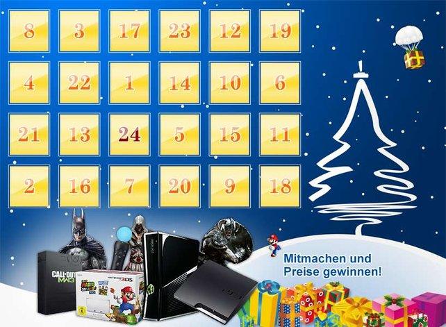 Der spieletipps-Adventskalender hat jede Menge Preise zu bieten.