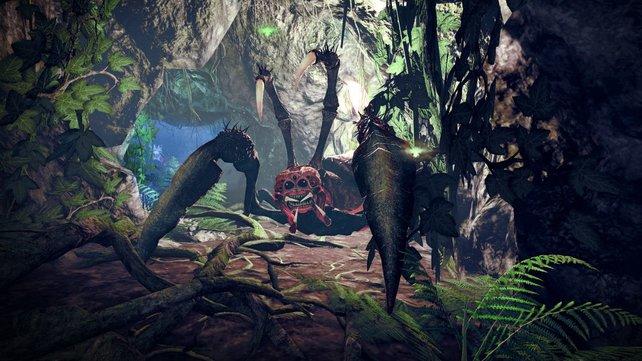 Umgebung und Charaktere machen einen ordentlichen Eindruck.