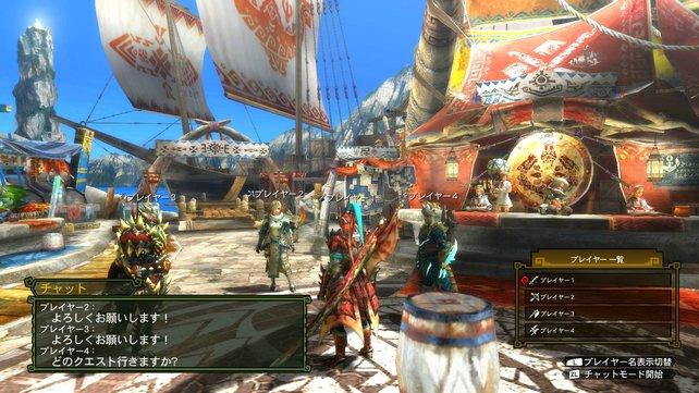 Auf der Wii U sieht Monster Hunter großartig aus.