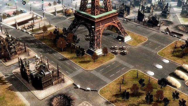 Der 3. Weltkrieg ist vorbei, aber wenigstes der Eiffelturm steht noch.