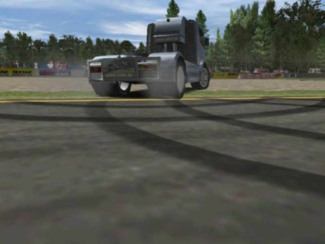 Mercedes Benz Trucking lässt grüßen