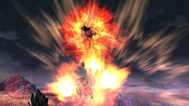 An Effekten haben die Entwickler bei Dragon Ball Z nicht gespart. Das gilt auch für die Akustik.