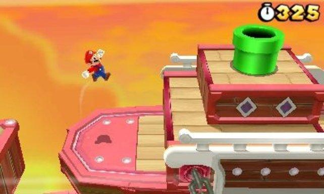 Super Mario 3D Land: Ein heißer Anwärter auf das 3DS-Spiel des Jahres 2011.
