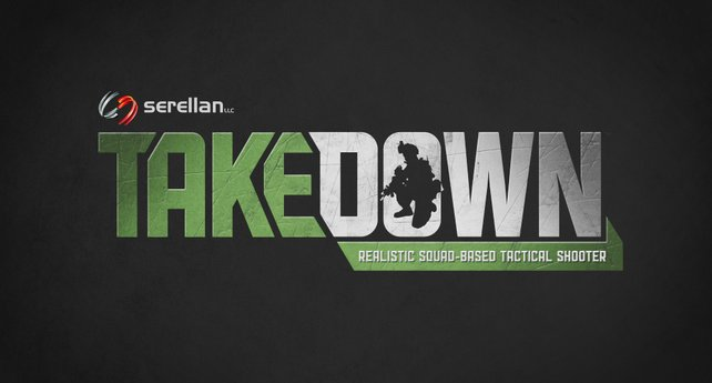 Das nüchterne Logo des Spiels.