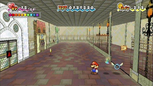 Die 3D-Rätsel geben Super Paper Mario enorme spielerische Tiefe