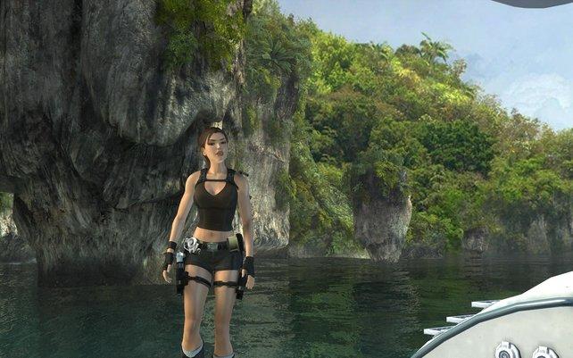Willkommen in Thailand, dem grafisch schönsten Schauplatz des Spieles.