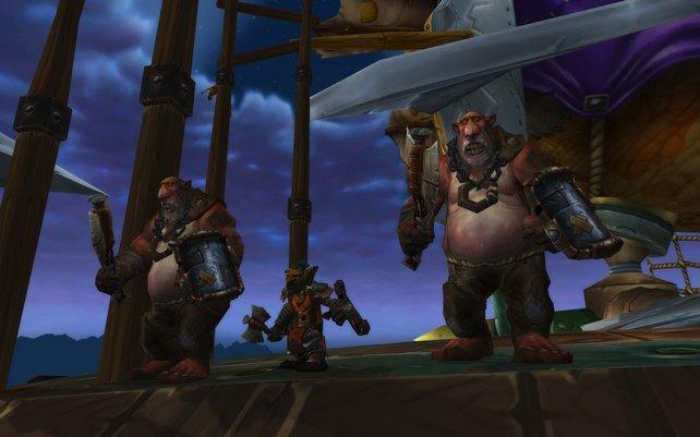 Die geschäftstüchtigen Goblins schließen sich der Horde an.
