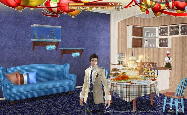 Die Eigenheime erinnern unweigerlich an Die Sims.