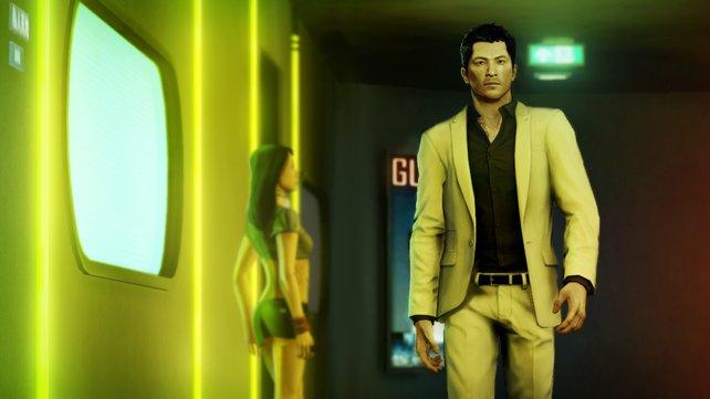 Wei Shen unterwegs in Hongkongs Club-Szene.
