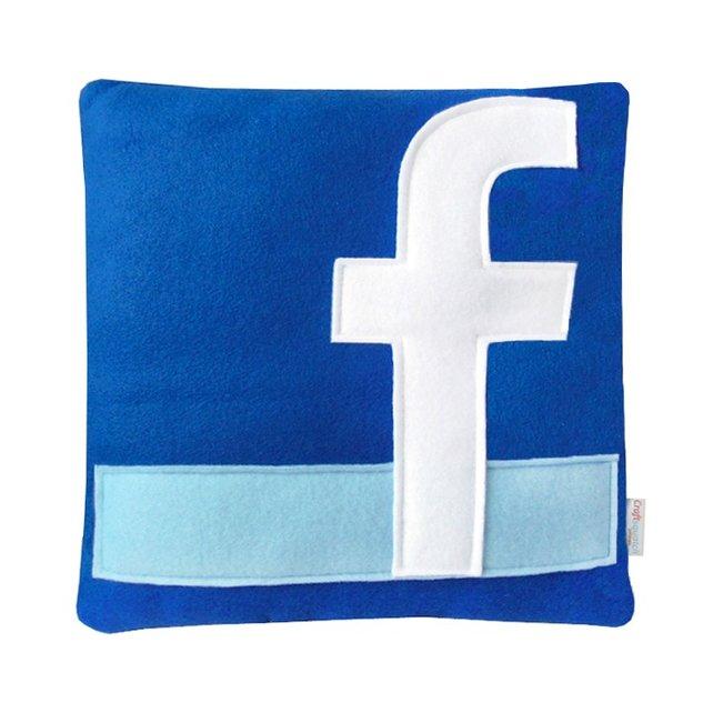 Zwischen 17 und 22 Euro kosten die Social- und Internet-Kissen.