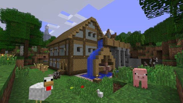 Eine eigene Welt erschaffen - mit Minecraft ein Kinderspiel.