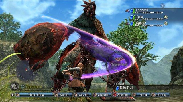 Das Kampfsystem stellt eine langweilige Mischung aus typischem Rollenspiel und Online-Scharmützel dar.