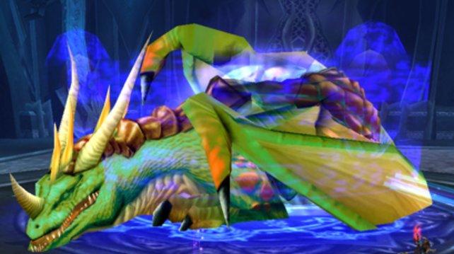 Anders als bei anderen Boss-Kämpfen sollt ihr Valithria Traumwandler heilen und nicht besiegen.