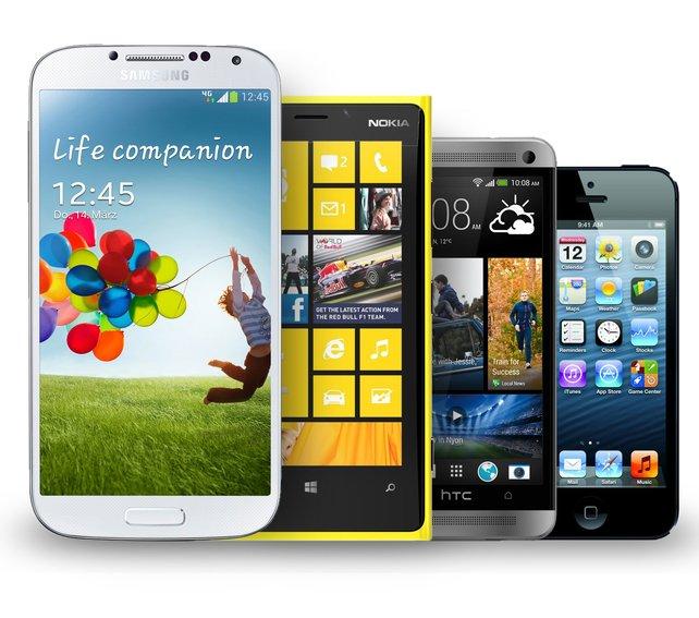 Die Qual der Wahl: Welches Smartphone darf's denn sein?