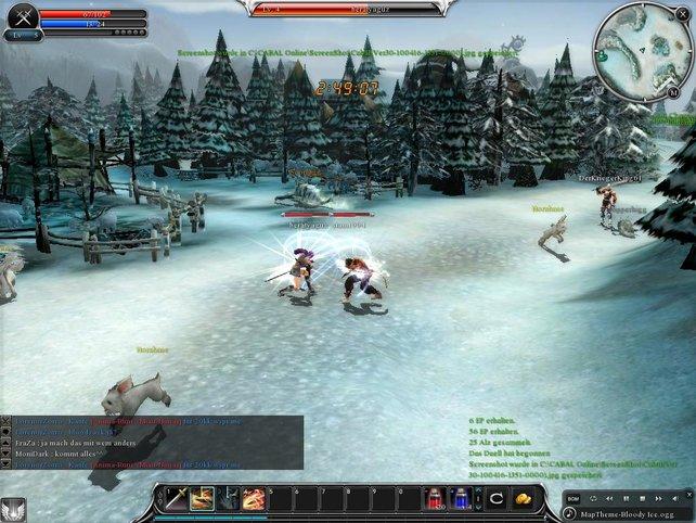 Im Kampf gegen andere Spieler sind Tränke überlebenswichtig.