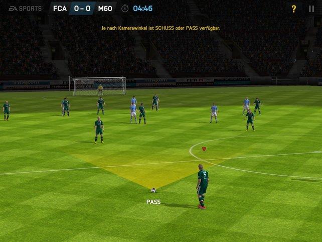 FIFA bringt eine neue gestenbasierte Steuerung mit, die vorrangig auf Tablets gut funktioniert.