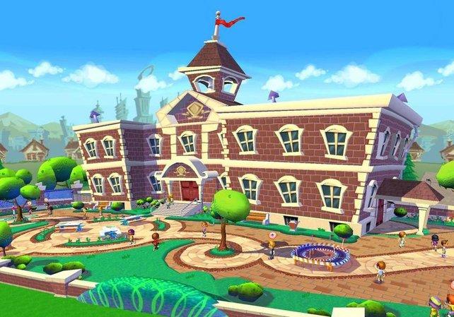 In dieser Schule spielt der Storymodus