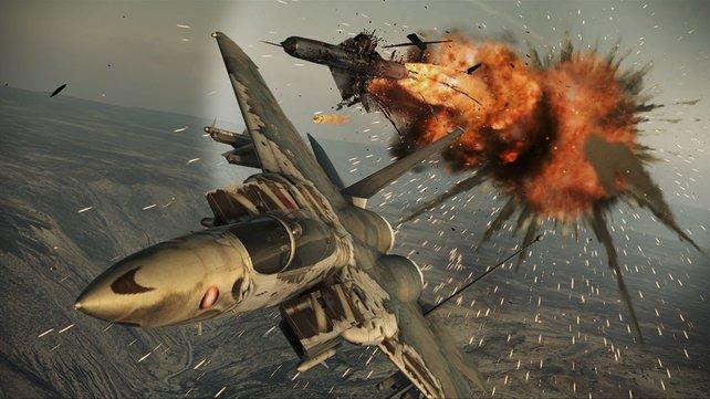 Feurig, explosiv und schnell sind die Einsätze in Assault Horizon.