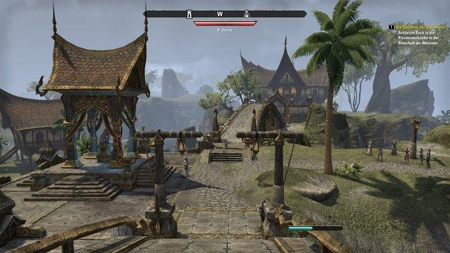 """Die Städte passen in den Stil der """"Elder Scrolls""""-Reihe."""